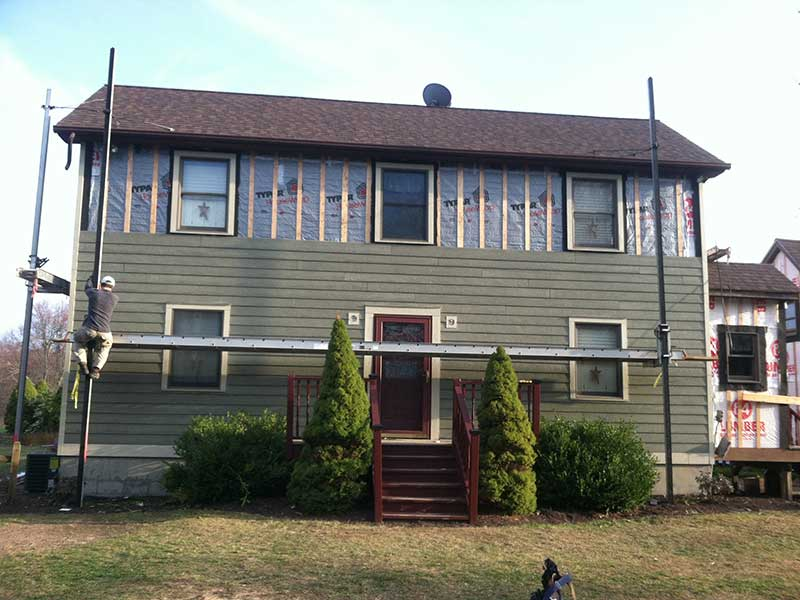 Jason Terpstra siding project